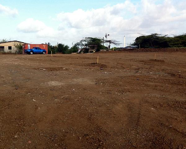 housing site ground prep