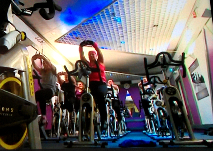 cold room company manager in spinning class