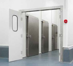 Refrigerated doors