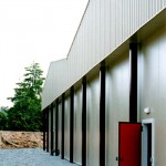 chilled warehouse cladding