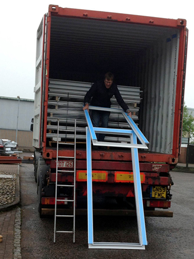 more container loading