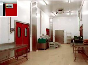 insulated flip flap doors