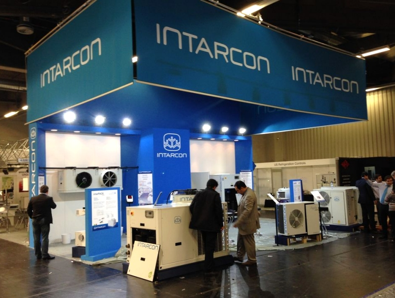 Intarcon stand almost ready