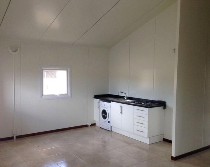kitchen in modular home