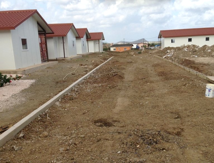 modular housing project road build prepration
