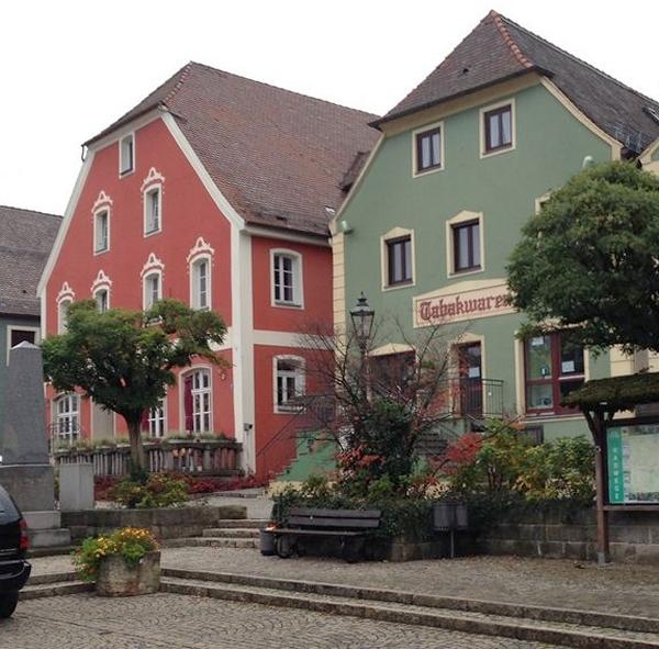 Distinctive Bavarian Architecture in Velburg