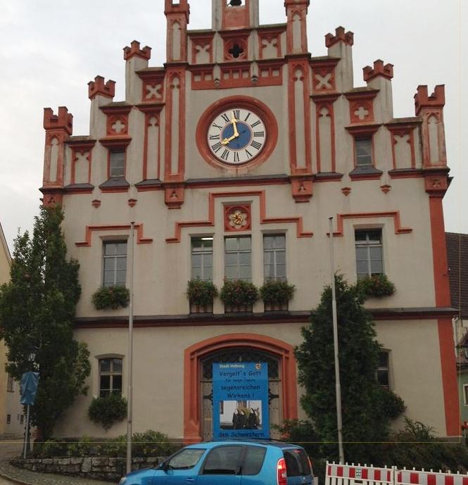 townhall rathaus velburg