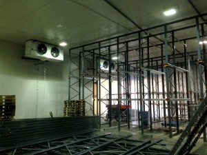 cold room racking and refrigeration